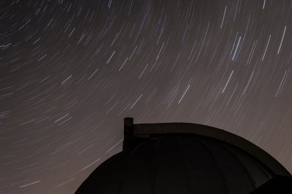 Pine Bluff Star Trail